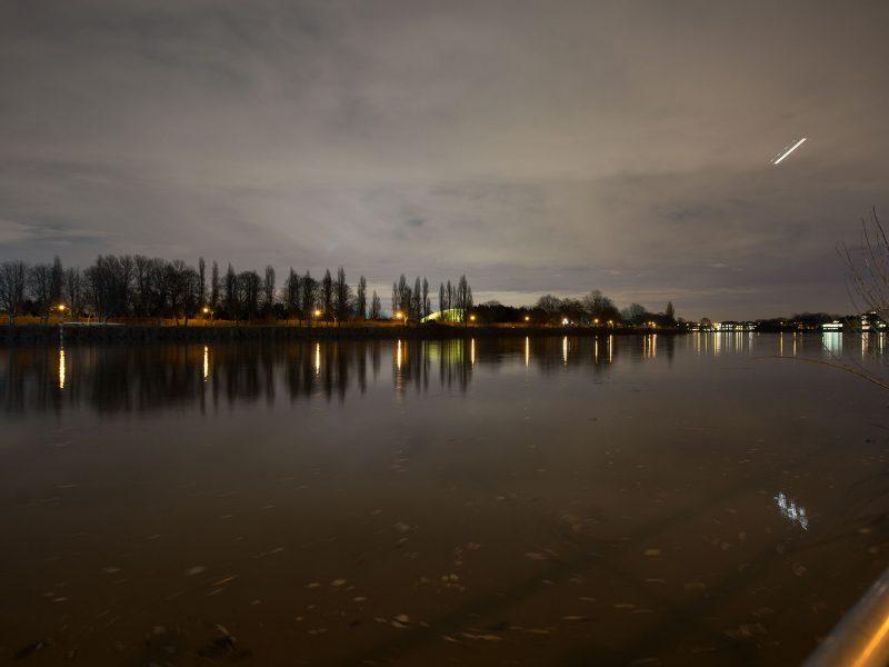Duke's Meadow Night Time View